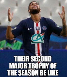 Major trophy memes
