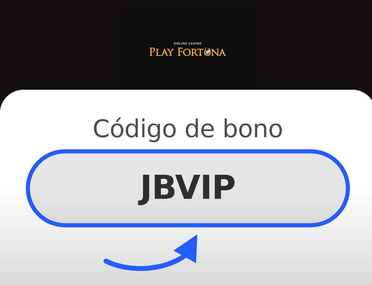Play Fortuna Código de Bono