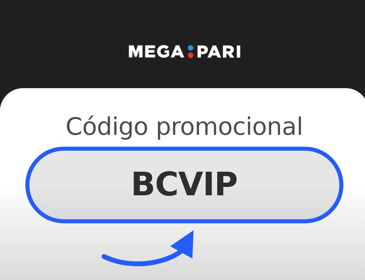 Código Promocional Megapari